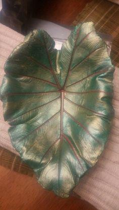 Concrete leaf casting                                                       …