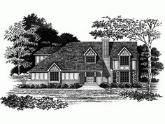 Build your ideal home with this Tudor house plan with 4 bedrooms(s), 2 bathroom(s), 2 story, and 2021 total square feet from Eplans exclusive assortment of house plans.