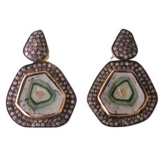 watermelon tourmaline and diamond.  Beautiful color/texture party theme. Would make gorgeous china pattern as well.