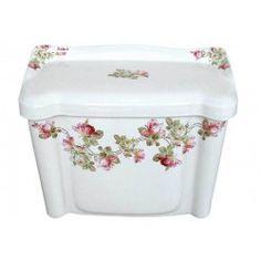 Heirloom Roses Toilet Tank