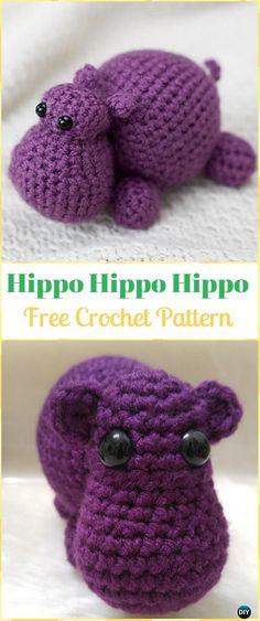 Mesmerizing Crochet an Amigurumi Rabbit Ideas. Lovely Crochet an Amigurumi Rabbit Ideas. Crochet Hippo, Crochet Gratis, Cute Crochet, Crochet Baby, Baby Knitting Patterns, Crochet Patterns Amigurumi, Crochet Dolls, Softies, Easy Crochet Projects