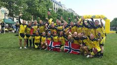 Team Rynkeby Norway framme i Paris 2014
