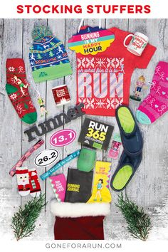 The great selection of runner's stocking stuffers from Gone For a Run features a huge variety of running apparel, accessories, jewelry, Christmas ornaments and more. Any of these will make perfect gifts for a runner. Christmas Themes, Christmas Holidays, Christmas Gifts, Christmas Ornaments, Holiday Decor, Stocking Stuffers For Women, Running Gifts, Tis The Season, Runners