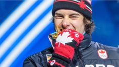Sébastien Toutant won a gold medal in the Olympic debut of big air and the men's ice hockey team earned a bronze medal at PyeongChang Here's some of the best photos from Day 15 of competition. Ice Hockey Teams, Winter Games, Canada, The Man, Cool Photos, Competition, Celebrities, Day, People
