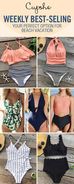 Calling all the trendsetters: no worrying about beachwear! Various weekly hottest bathing suits with better quality here for you. Let beauty and comfort be your closed swimming friends. FREE shipping! Check them out!