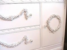 Katty's Cosy Cove: How to make your own appliques for your furniture