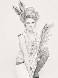 Lara Adams Art | Peacock by ditney on DeviantArt