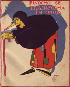 Pinocchio's Spanish Cousin Pinocchio