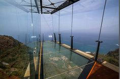 Jose Luis Bermejo Martin | on the island of the Gomera - the new 'Mirador de Abrante' observation point -  620 meters above sea level overlooking the Atlantic Ocean and the tip of Tenerife in the Canary Islands.