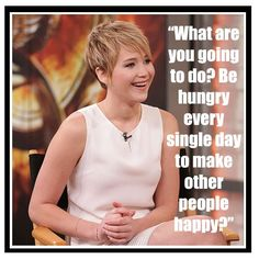 Jennifer Lawrence quote about image.