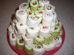 Roll up sandwiches
