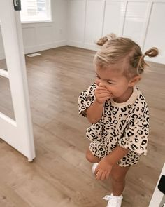 Infant Toddler Baby Boy Girl Clothes Leopard Outfit Short Sleeve Pocket T-Shirt Top and Shorts Clothing