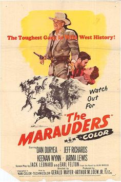 Cinemelodic: Crítica: THE MARAUDERS (1955)