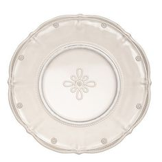 Juliska Colette Hand Pressed Clear Dessert Plate by Juliska. $29.00. Herendstore is an authorized Juliska Signature Store retailer.. 9 inches wide.. Hand pressed glass made in Portugal.. Juliska glass is lead-free and dishwasher-safe on the gentle cycle.. Juliska Colette Hand Pressed Clear Dessert Plate. This hand-pressed glass is durable and delightful with a berry and thread motif that is icing on the cake for this sweetly sophisticated dessert plate in clear.