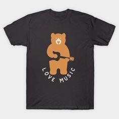 playing guitar music at teepublic Playing Guitar, Graphic Tees, Music, Fabric, Mens Tops, T Shirt, Musica, Tejido, Supreme T Shirt
