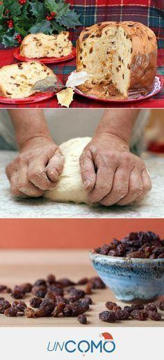Receta de panettone de Navidad CASERO - DELICIOSO #panettone #navidad #recetasnavideñas #PostresFáciles Pan Bread, Bread And Pastries, Food Goals, Dinner Rolls, How To Make Bread, Sweet Desserts, Sweet Bread, Creative Food, Baking Recipes