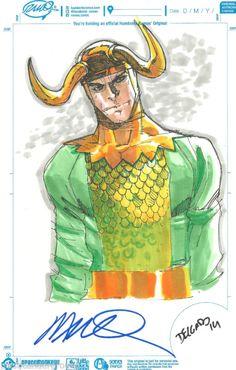 Loki by Humberto Ramos