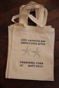 I think this made up my mind about OOT bags - The Respectful Mommy: DIY Beach Destination Wedding Favors