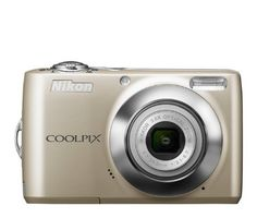 Nikon COOLPIX L24 14 MP Digital Camera with 3.6x NIKKOR Optical Zoom Lens and 3-Inch LCD (Silver) by Nikon. $144.95. From the Manufacturer                 Capture life's best moments. Don't miss the moment.    Birthdays. Weddings. Baby's first steps. With the COOLPIX L24, it's never been easier to keep these memories alive. This compact camera makes it simple to shoot clear photos and movies that you can e-mail, post on a family website or print and frame at home. With the...