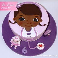 Be Sweet: reposteria creativa: Cake Doctora Juguetes