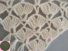 Love Crochet, Crochet Motif, Crochet Shawl, Crochet Stitches, Knit Crochet, Shawl Patterns, Knitting Patterns, Crochet Patterns, Knitted Shawls