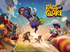 Raids of Glory Easter Update Games For Toddlers, Games For Teens, Game Concept, Concept Art, Game Character, Character Design, Game 2d, Youth Games, Splash Screen