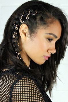 Pin for Later: 29 Ways to Pimp Your Plaits With Hair Jewellery