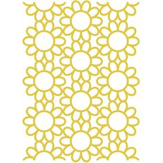 Sun Flower 8.5x11 Background Cut File .SVG .DXF .PNG