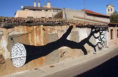 Street art | Mural (Salamanca, Spain) by Pablo S. Herrero and David de la Mano