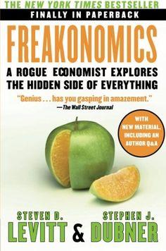 Freakonomics: A Rogue Economist Explores the Hidden Side ... https://www.amazon.com/dp/0060731338/ref=cm_sw_r_pi_dp_x_HDnxzb6Z8VVNN