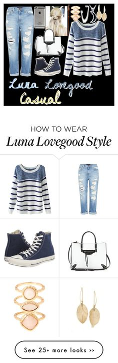 """Luna Lovegood [Crystina]"" by rainbow-icon-girls on Polyvore featuring Genetic Denim, Converse, Chicnova Fashion, Monday, Balenciaga, Monsoon, French Connection, Carolina Glamour Collection, Lulu*s and rainbowgirlcrystina"