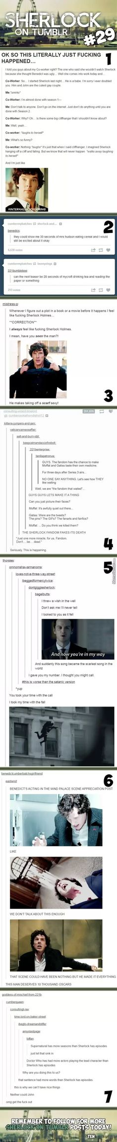The Sherlock fandom fakes its death xD