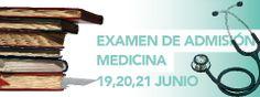 Examen de Admisión para Medicina 19, 20 y 21 de Junio. Informes al Tel (461) 6134385 Ext 119