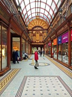 Central Arcade Shopping, north end of Grainger Street, Newcastle