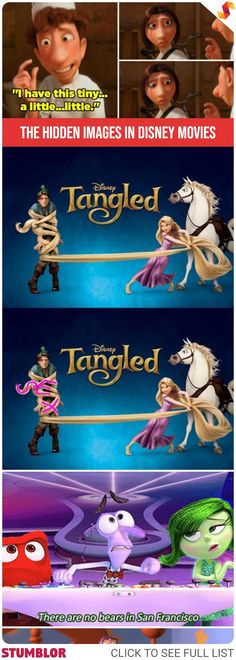 Can You Spot The Hidden Images In These Disney Movies? #images #hidden #disney #creativity #art