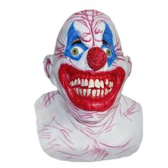 New product in the hood Scary Clown Hallo...   Check this out http://www.partyhardstore.com/products/scary-clown-halloween-mask?utm_campaign=social_autopilot&utm_source=pin&utm_medium=pin