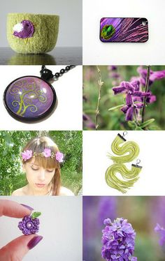 Lavender   Lime by Katherine on Etsy--Pinned with TreasuryPin.com