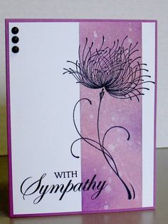 Dreamy CAS by blindstamper - Cards and Paper Crafts at Splitcoaststampers