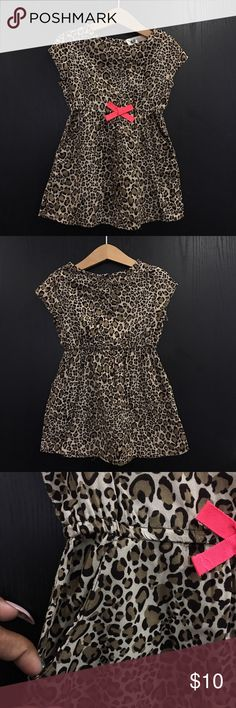 H&M girl leopardprint pocket shirt Sz 2/3 Excellent pre-loved condition H&M Shirts & Tops