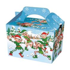 ELF ELVES CHRISTMAS FOOD PARTY GIFT BOX