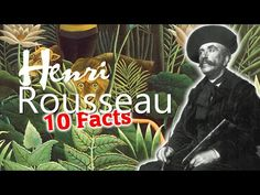 Henri Rousseau biography for beginners: This video covers 10 really amazing facts about the French naïve painter Henri Rousseau otherwise know as 'le douanie. History Education, Art History, Henri Rousseau Paintings, Moving To Paris, History Channel, Oui Oui, Amazing Facts, Teaching Art, Naive