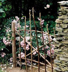 As we enter through the gate, the garden becomes a feast for our senses.