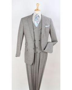 7d021571788 Apollo King Men s 3pc 100% Wool Fashion Suit - Unique Vest