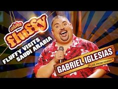 Fluffy Visits Saudi Arabia - Gabriel Iglesias (from Aloha Fluffy: Gabriel Iglesias Live from Hawaii)! Holy crap that's funny! Fluffy Gabriel Iglesias, Fluffy Iglesias, Comedy Clips, Comedy Song, Funny Memes, Hilarious, Jokes, Stand Up Comedy, Chistes