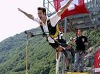 """Trekking - Swiss company. """"Remember the scene in Goldeneye, when Pierce Brosnan plummets down a 220m-high near-vertical dam wall? What's good enough for 007 is certainly good enough for your average bungee enthusiast who may find themselves both shaken and stirred after experiencing this jump for themselves."""""""
