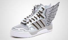 adidas Originals by Jeremy Scott JS Wings 2.0 Metallic Silver  281.00  Sneaker Store, Jeremy Scott 5da6e64368