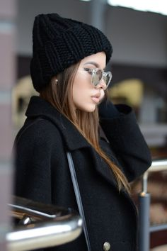 Chunky knit hat Christmas gift for Womens knitted hats Girlfriend Gift for  her Winter hats for women Wool knit hat Hand knit hat Chunky hat dca476aad513