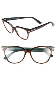 Free shipping and returns on Tom Ford 55mm Optical Frames (Online Only) at Nordstrom.com. Pristine logo hardware shines on the iridescent temples of retro-chic cat-eye frames.
