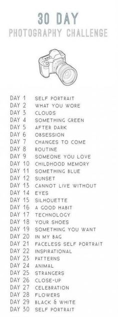 """Im a Geek Man: 30 Day Photography Challenge. I wanna do this-Im a Geek Man: 30 Day Photography Challenge. I wanna do this as an """"art"""" project… Im a Geek Man: 30 Day Photography Challenge. I wanna do this as an """"art"""" project for the apartment."""