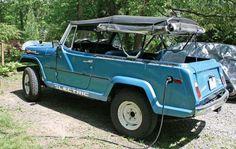 ev jeepster commando 1970